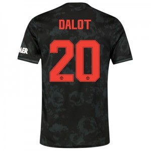 Manchester United Cup Third Shirt 2019 - 20 with Dalot 20 printing