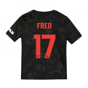 Manchester United Cup Third Shirt 2019 - 20 - Kids with Fred 17 printing