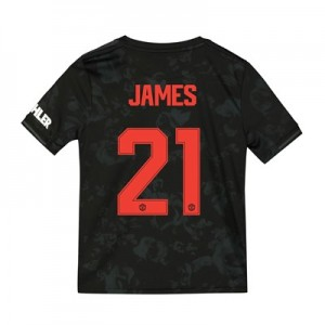 Manchester United Cup Third Shirt 2019 - 20 - Kids with James 21 printing