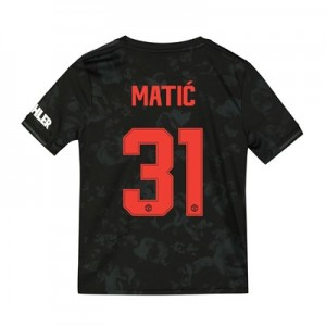 Manchester United Cup Third Shirt 2019 - 20 - Kids with Matic 31 printing