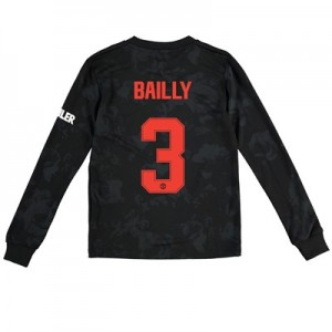 Manchester United Cup Third Shirt 2019 - 20 - Kids - Long Sleeve with Bailly 3 printing