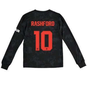 Manchester United Cup Third Shirt 2019 - 20 - Kids - Long Sleeve with Rashford 10 printing