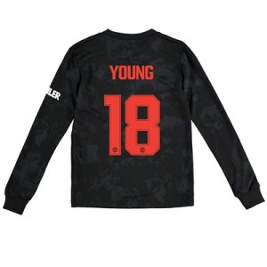 Manchester United Cup Third Shirt 2019 - 20 - Kids - Long Sleeve with Young 18 printing