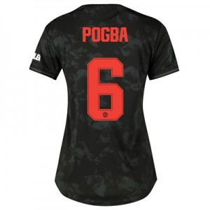 Manchester United Cup Third Shirt 2019 - 20 - Womens with Pogba 6 printing