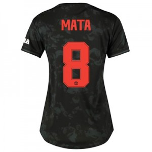 Manchester United Cup Third Shirt 2019 - 20 - Womens with Mata 8 printing