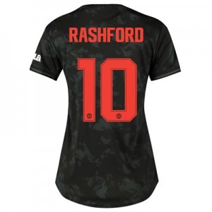 Manchester United Cup Third Shirt 2019 - 20 - Womens with Rashford 10 printing
