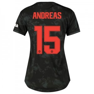 Manchester United Cup Third Shirt 2019 - 20 - Womens with Andreas 15 printing