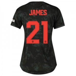 Manchester United Cup Third Shirt 2019 - 20 - Womens with James 21 printing