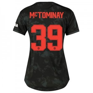 Manchester United Cup Third Shirt 2019 - 20 - Womens with McTominay 39 printing