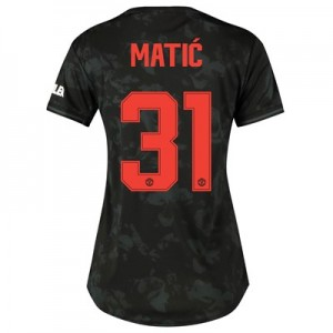Manchester United Cup Third Shirt 2019 - 20 - Womens with Matic 31 printing
