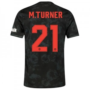 Manchester United Cup Third Shirt 2019 - 20 with M.Turner 21 printing