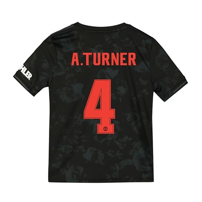 Manchester United Cup Third Shirt 2019 - 20 - Kids with A.Turner 4 printing