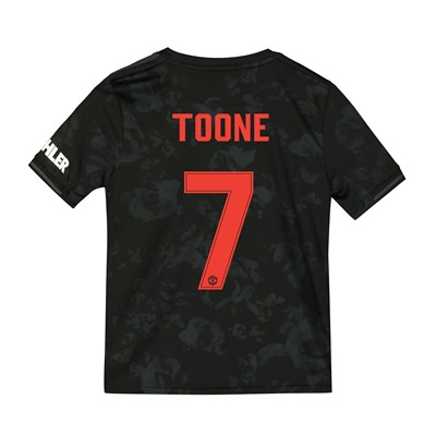 Manchester United Cup Third Shirt 2019 - 20 - Kids with Toone 7 printing