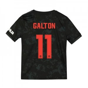 Manchester United Cup Third Shirt 2019 - 20 - Kids with Galton 11 printing