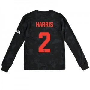 Manchester United Cup Third Shirt 2019 - 20 - Kids - Long Sleeve with Harris 2 printing