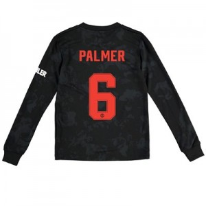 Manchester United Cup Third Shirt 2019 - 20 - Kids - Long Sleeve with Palmer 6 printing