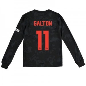 Manchester United Cup Third Shirt 2019 - 20 - Kids - Long Sleeve with Galton 11 printing