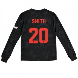 Manchester United Cup Third Shirt 2019 - 20 - Kids - Long Sleeve with Smith 20 printing