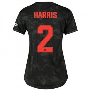 Manchester United Cup Third Shirt 2019 - 20 - Womens with Harris 2 printing