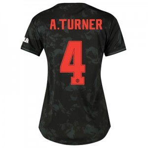 Manchester United Cup Third Shirt 2019 - 20 - Womens with A.Turner 4 printing