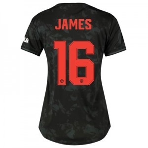 Manchester United Cup Third Shirt 2019 - 20 - Womens with James 16 printing