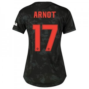 Manchester United Cup Third Shirt 2019 - 20 - Womens with Arnot 17 printing