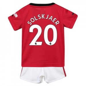 Manchester United Home Baby Kit 2019 - 20 with Solskjaer 20 printing