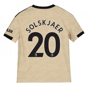 Manchester United Away Shirt 2019 - 20 - Kids with Solskjaer 20 printing