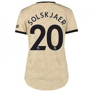 Manchester United Away Shirt 2019 - 20 - Womens with Solskjaer 20 printing