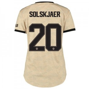 Manchester United Cup Away Shirt 2019 - 20 - Womens with Solskjaer 20 printing