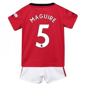 Manchester United Home Baby Kit 2019 - 20 with Maguire 5 printing