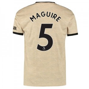 Manchester United Away Shirt 2019 - 20 with Maguire 5 printing