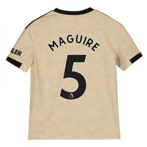 Manchester United Away Shirt 2019 - 20 - Kids with Maguire 5 printing