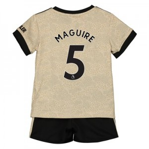 Manchester United Away Baby Kit 2019 - 20 with Maguire 5 printing