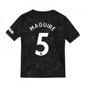 Manchester United Third Shirt 2019 - 20 - Kids with Maguire 5 printing