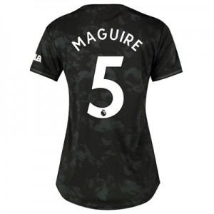 Manchester United Third Shirt 2019 - 20 - Womens with Maguire 5 printing