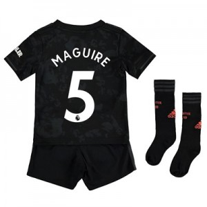 Manchester United Third Mini Kit 2019 - 20 with Maguire 5 printing