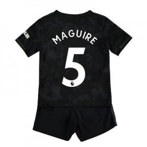 Manchester United Third Baby Kit 2019 - 20 with Maguire 5 printing