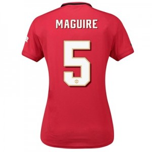 Manchester United Cup Home Shirt 2019 - 20 - Womens with Maguire 5 printing