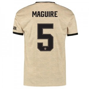 Manchester United Cup Away Shirt 2019 - 20 with Maguire 5 printing