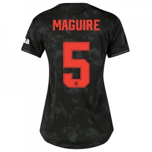 Manchester United Cup Third Shirt 2019 - 20 - Womens with Maguire 5 printing