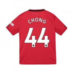 Manchester United Home Shirt 2019 - 20 - Kids with Chong 44 printing