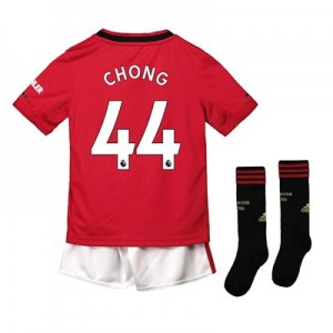 Manchester United Home Mini Kit 2019 - 20 with Chong 44 printing