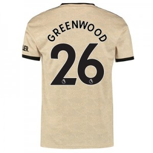 Manchester United Away Shirt 2019 - 20 with Greenwood 26 printing