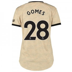 Manchester United Away Shirt 2019 - 20 - Womens with Gomes 28 printing