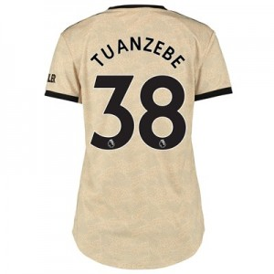 Manchester United Away Shirt 2019 - 20 - Womens with Tuanzebe 38 printing