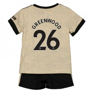 Manchester United Away Baby Kit 2019 - 20 with Greenwood 26 printing