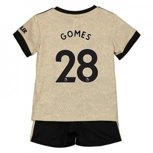 Manchester United Away Baby Kit 2019 - 20 with Gomes 28 printing