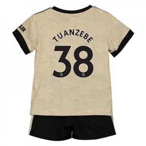 Manchester United Away Baby Kit 2019 - 20 with Tuanzebe 38 printing