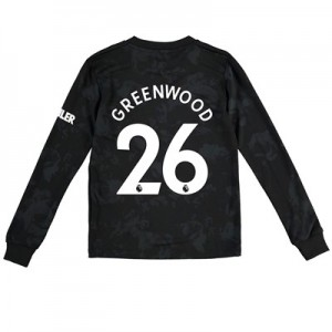 Manchester United Third Shirt 2019 - 20 - Kids - Long Sleeve with Greenwood 26 printing
